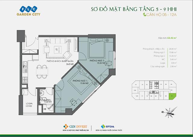 Thiết kế căn hộ 05 & 12