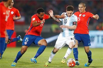 UPDATE LIVE SKOR FINAL COPA AMERIKA 2016 : Hasil Argentina Vs Chili Skor 0-0 ( PK 2-4 ) �Chili Kembali Juara..!!�