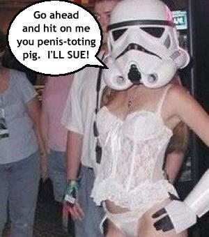 feminist storm trooper