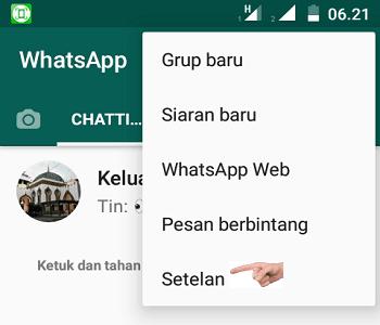 Trik Sembunyikan Status Online di WatsApp