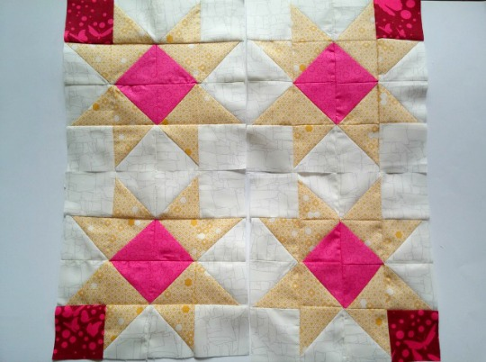 Puppilalla, HST stars, Half square triangles, star quilt block