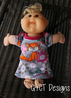 "12"" cabbage patch with free clothing pattern"