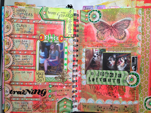 The Documented Life Project Week 20 Planner pages