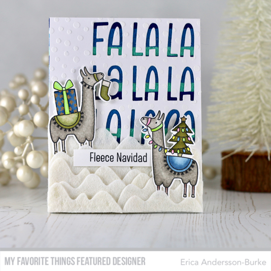 Handmade card by Erica Andersson-Burke featuring productd from My Favorite Things #mftstamps
