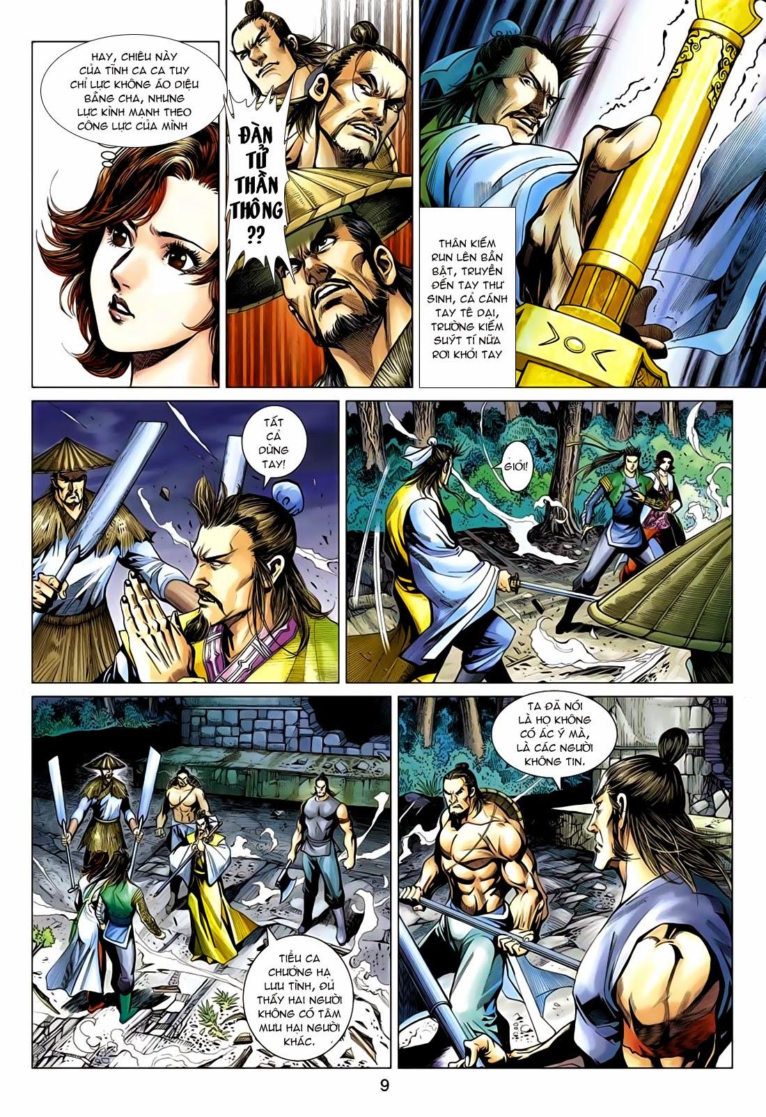 Anh Hùng Xạ Điêu anh hùng xạ đêu chap 75: hoàng thành cựu sự trang 9