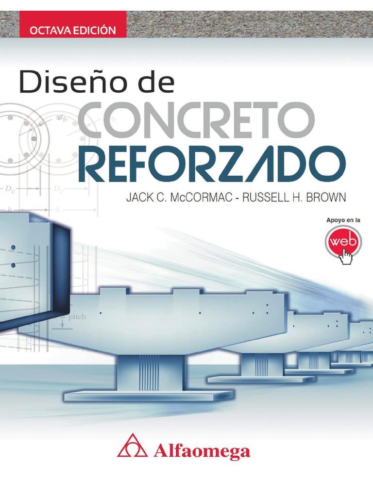 Diseño de concreto reforzado, 8va Edición – Jack C. McCormac