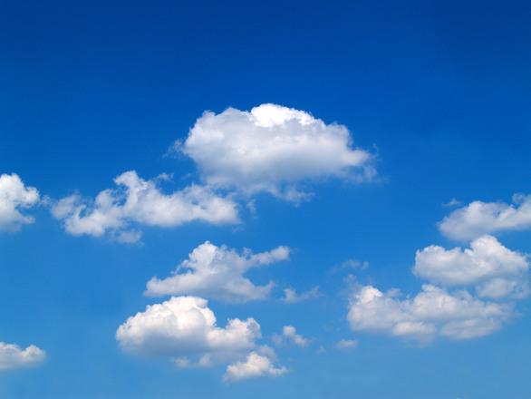 Fotos E Imagenes Cielo Azul Con Nubes: ¿Por Qué Las Nubes Son Blancas?