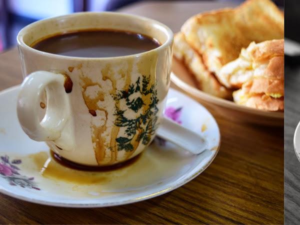 Kong Thai Lai Coffee Shop  广泰来咖啡店  @ Hutton Lane, Penang (Moved to Leith Street)
