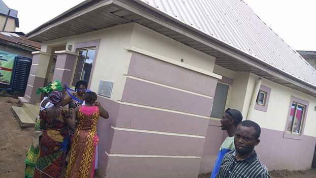 Imo State first lady donates furnished bungalow to widow