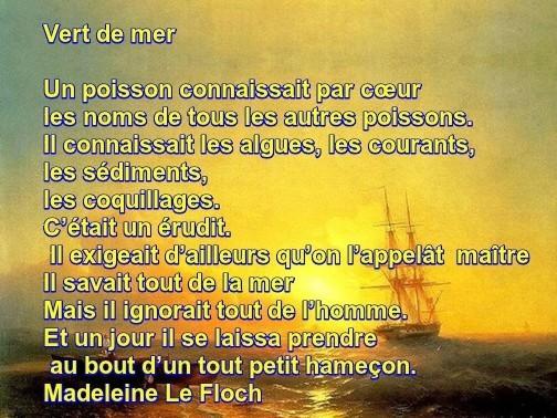 Le Coq Picore Court Petit Poème Vert De Mer