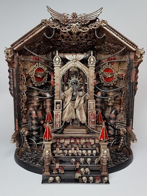 warhammer 40k Emperor conversion blanchitsu