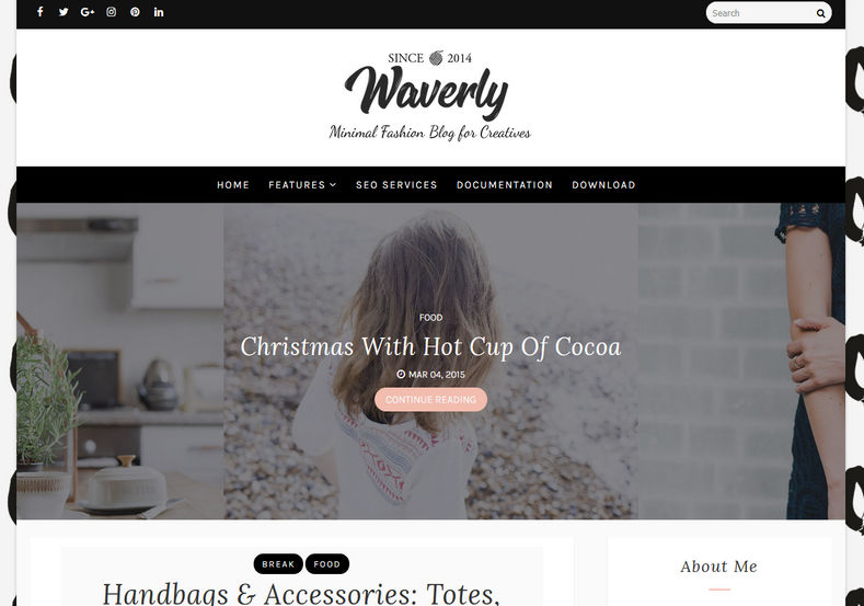 Waverly Blogger Template Blogger Templates Gallery - fashion blogger templates