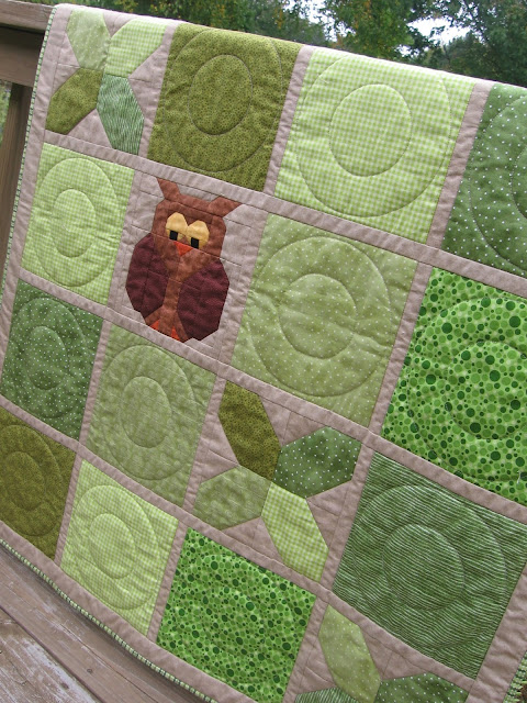 Tic Tac Hoot by Canuck Quilter Designs