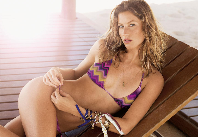 Swimwear Supermodel Gisele Nude Pic