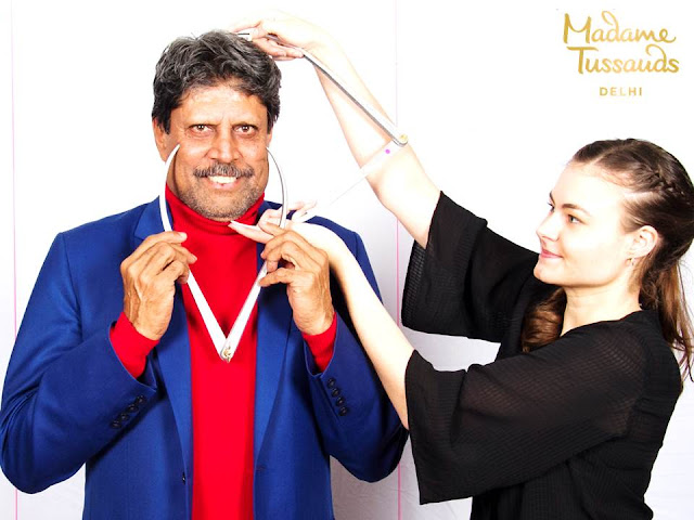 Kapil Dev is set to amaze as he joins the list of sports icons in Madame Tussauds Delhi