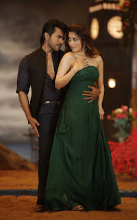 Ram Charan and Tammana from racha