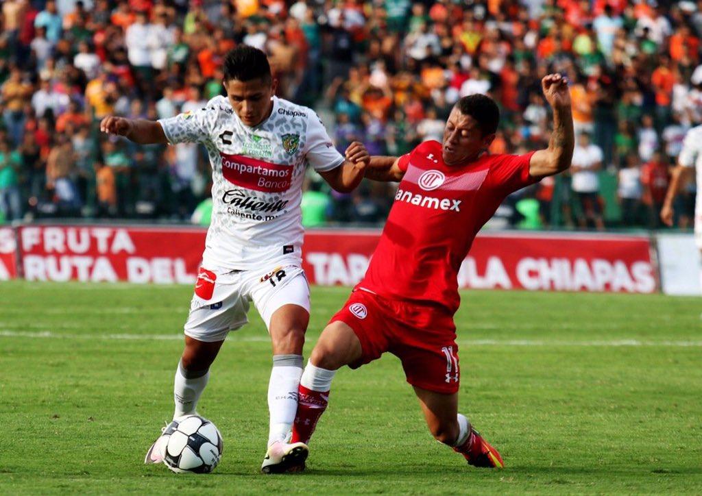 Chiapas 1-0 Toluca Apertura 2016