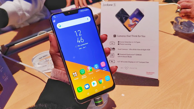 Perkenalan ZenFone 5 di Mobile World Congress 2018, Barcelona
