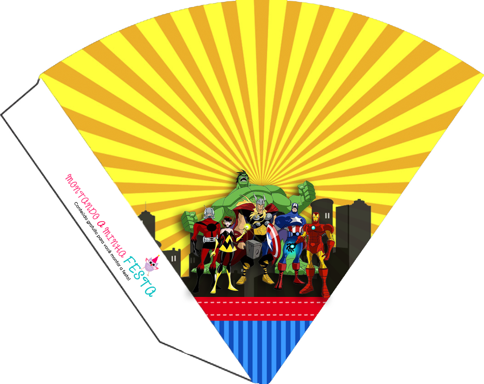 Avengers Comic Version Free Party Printables Oh My Fiesta For