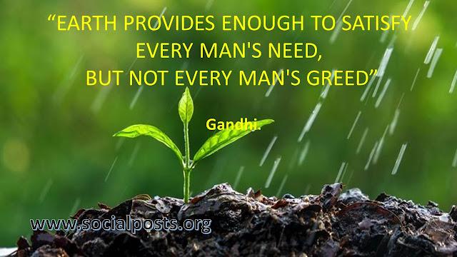 Slogan in world environment day 2019