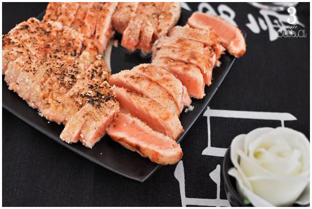 como fazer sashimi grelhado