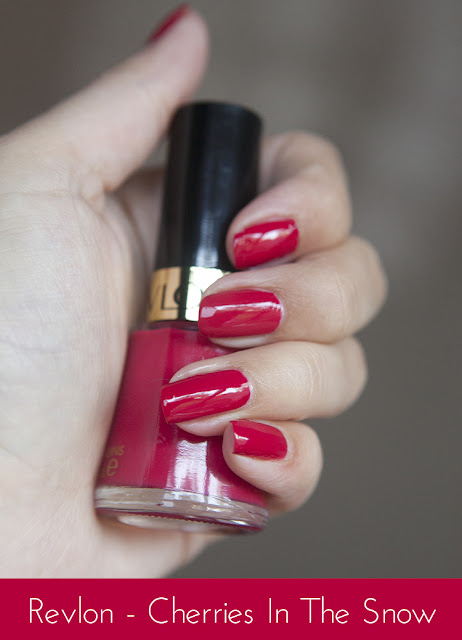 Nails Of The Day Revlon Cherries In The Snow Super Gorgeous