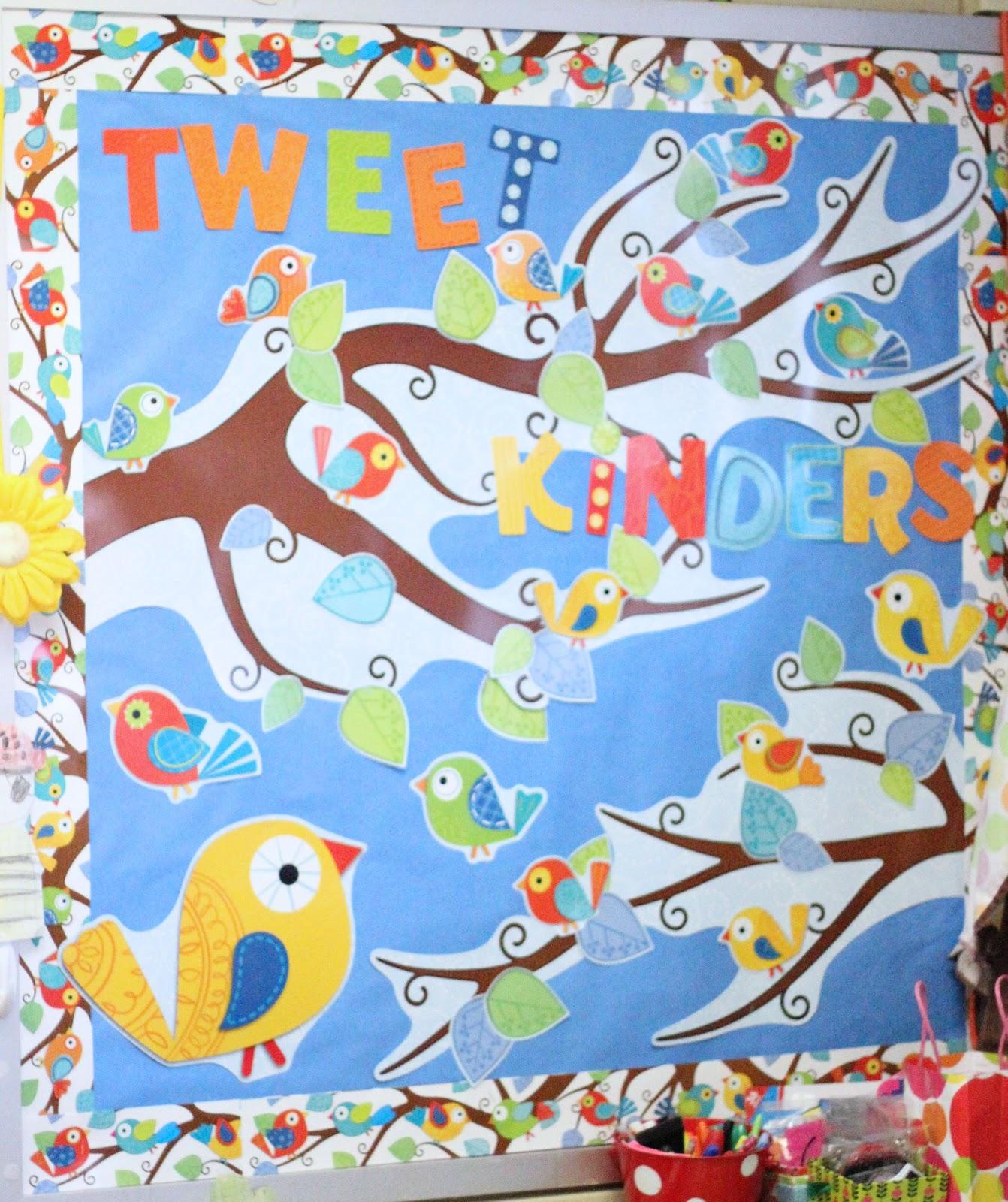 Classroom Ideas With Birds ~ Carson dellosa s boho birds first grade blue skies