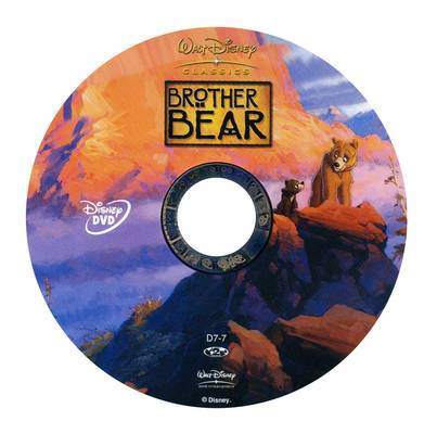 DVD Brother Bear 2003 animatedfilmreviews.filminspector.com
