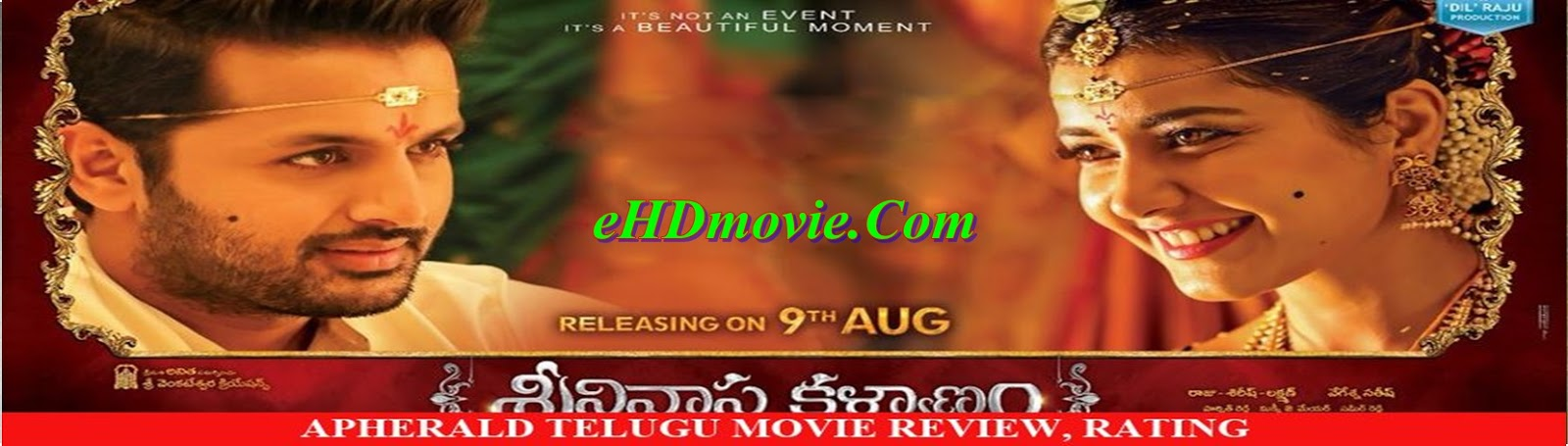 Srinivasa Kalyanam 2018 Full Movie Telegu 720p - HEVC - 480p ORG HDRip 400MB - 700MB - 1GB ESubs Free Download