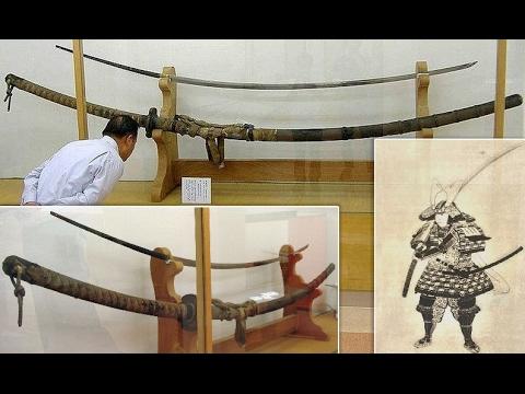 The Norimitsu Odachi, A 3.77 Meter-long Sword: A Sword For A Giant?