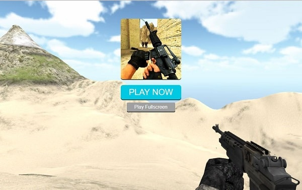 Combat Strike 2 first screen
