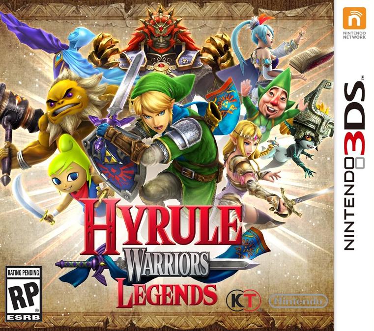 Cias Para 3ds Hyrule Warriors Legends Dlc Update 1 6