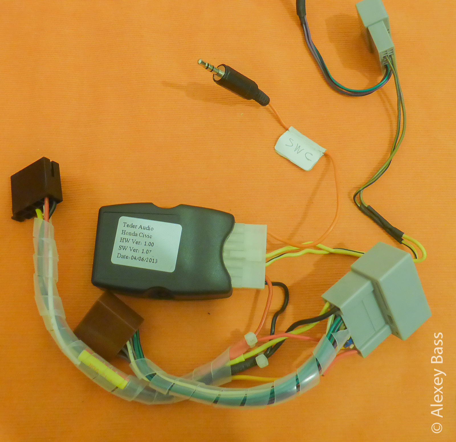 honda civic steering wiring [ 1600 x 1550 Pixel ]