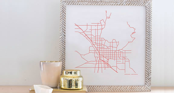 unique Christmas gift ideas, unique and custom gift ideas, Christmas gift ideas that mean something, Anniversary gift ideas, custom line drawing of a map
