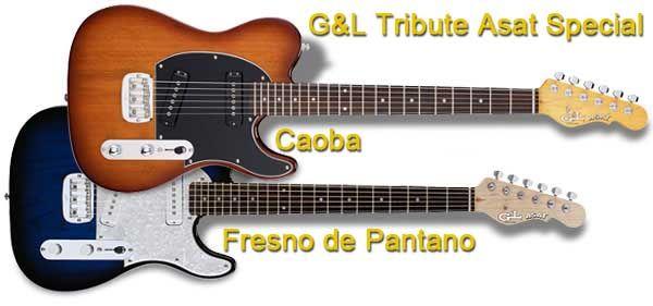 Guitarra Telecaster G&L Tribute Asat Special con Pastillas de Estilo P90