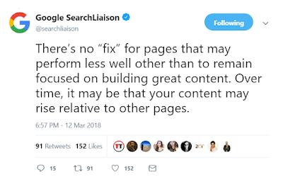 Update Google martie 2019