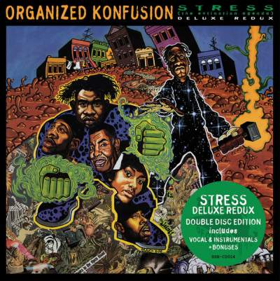 Organized Konfusion - Stress The Extinction Agenda (Deluxe Redux) - Album Download, Itunes Cover, Official Cover, Album CD Cover Art, Tracklist