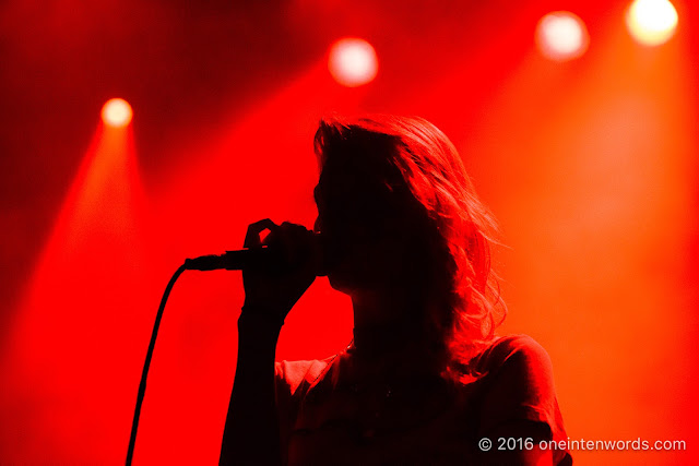Warpaint at The Danforth Music Hall on October 3, 2016 Photo by John at  One In Ten Words oneintenwords.com toronto indie alternative live music blog concert photography pictures