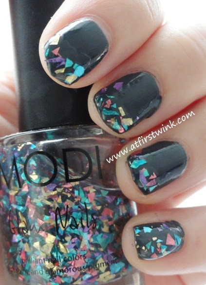 Modi Glam nails 53 - Sparkle Real Mix nail polish