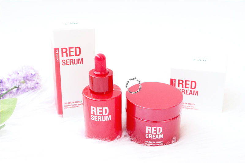 Review Dr. Color Effect Red Serum and Red Cream