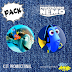 Kit de bottons - Procurando Nemo