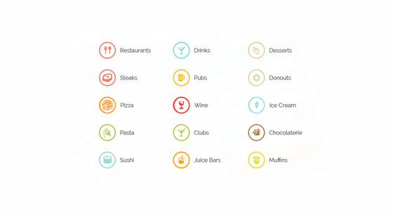 Business Finder Map Icons