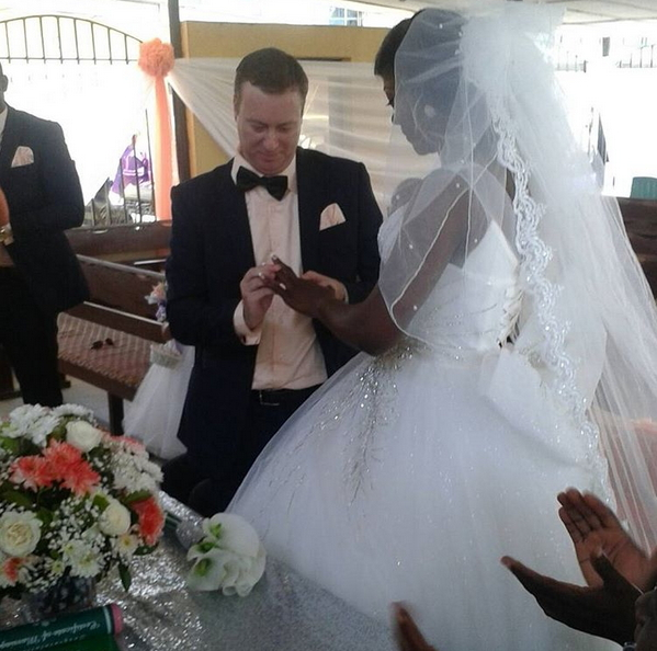 nigerian actress susan peters wedding pictures