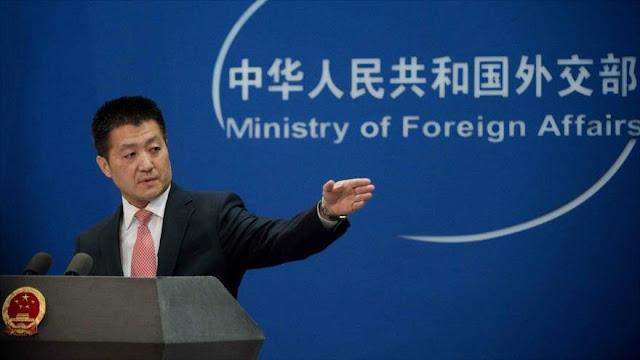 China urge a EEUU a atender su historia de incumplimiento de DDHH