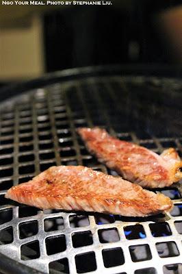 Matsusaka Sirloin Steak at Matsusaka Yakiniku M