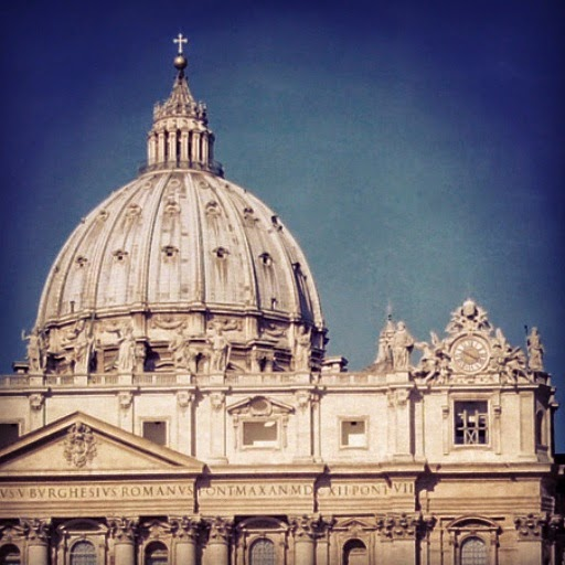 Cúpola de Michelangelo da Basílica de São Pedro