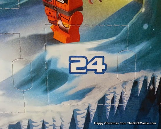 The LEGO Star Wars Advent Calendar Day 24 window