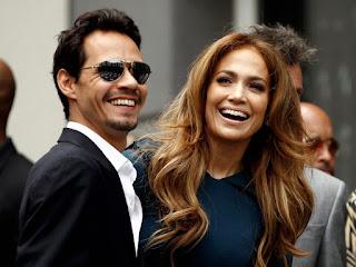 Marc Anthony y Jennifer Lopez celebridades que han cambiado de nombres