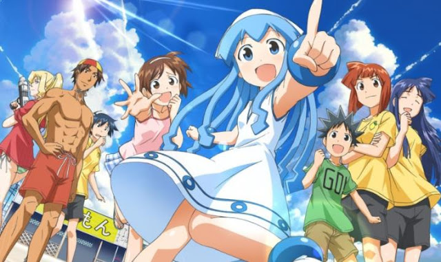 Squid Girl (Shinryaku! Ika Musume) - Best Anime Like Assasination Classroom (Ansatsu Kyouhitsu)