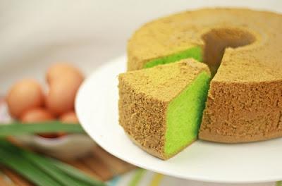 Resep Cake Putih Telur Panggang Rasa Pandan Wangi